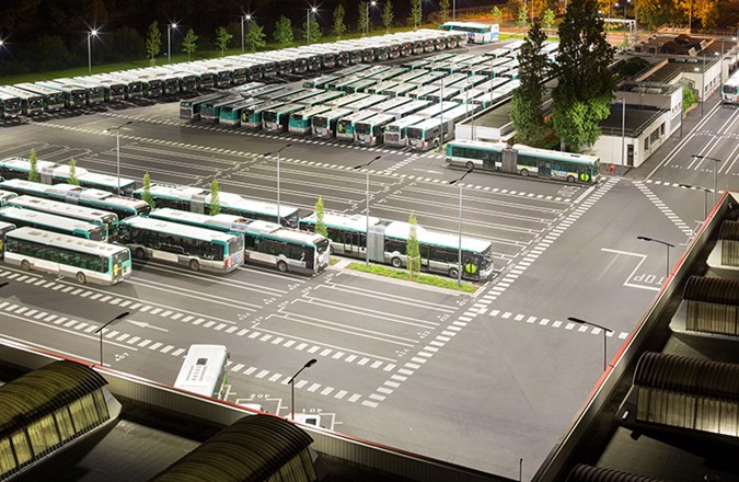 Ratp Bus Depot – Nanterre