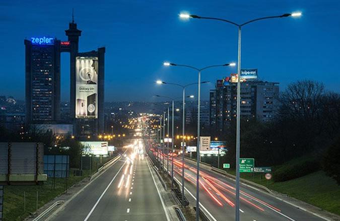 E75 Motorway Lighting Upgrade – Belgrade