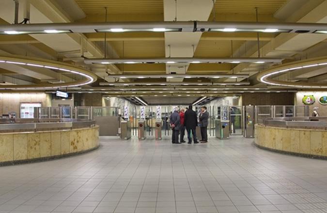 Aumale Metro Station – Brussels