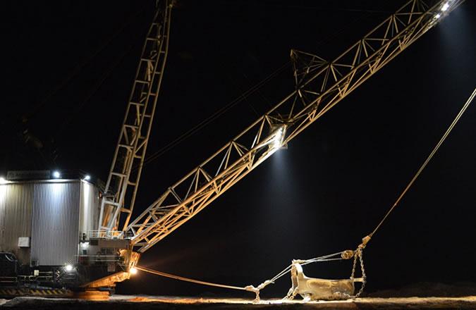 Anglo American Coal Dragline Excavator