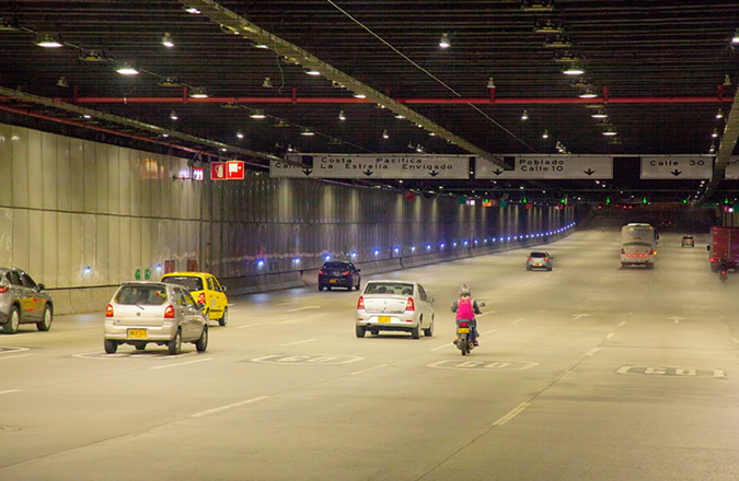 Parques del Río Medellín Tunnel